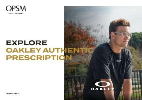 Explore Oakley Authentic Prescription